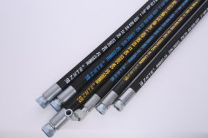 High Working Pressure Hydraulic Rubber Hose 4sh pictures & photos