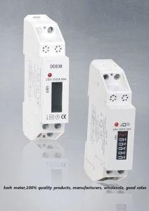 Single Phase DIN Rail Watt-Hour Meter (DDS227-1 )