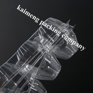 100% Transparent Clear Plastic PVC Egg Tray Boxes for 3 Cells Chicken Eggs pictures & photos