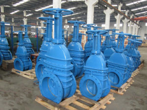 Dn1500 Large Size Gate Valve with Bypass for Potable Water pictures & photos