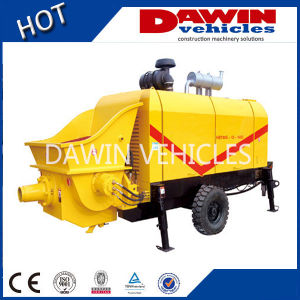 50 M3/Hour Trailer Mounted Concrete Pump with Diesel Power pictures & photos