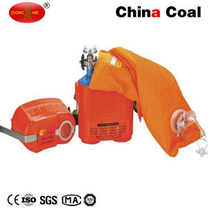 Zyx45 Isolated Compressed Oxygen Self Rescuer Breathing Apparatus pictures & photos