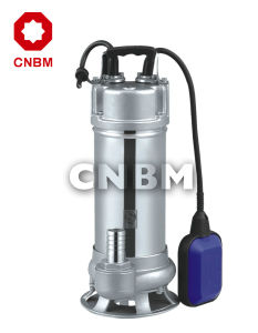 WQ/WQD Stainless Steel Sewage Submersible Electric Pump pictures & photos