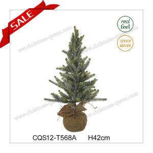 H42-53cm Popular Wedding Gift Plastic Christmas LED Light Tree pictures & photos