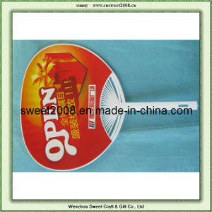 High Quality Customised Promotional Cheap PP Hand Fan pictures & photos