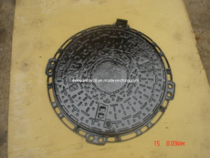 D400 Round Frame Casting Iron Manhole Covers with Locking pictures & photos