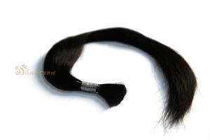 Silky Straight Remy Hair Bulk Chinese Hair Full Virgin Human Hair