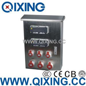 IEC Plastic Combination Socket Box pictures & photos