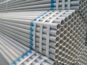 Building Material Q195/Q235 ERW Welded Pre Galvanized Steel Pipe/Tube pictures & photos