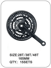 Crank and Chainwheel--- Bike Parts