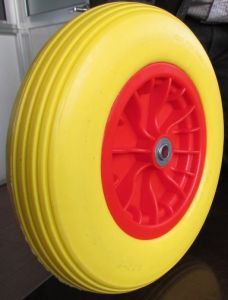 Polyurethane Foam Wheel, PU Wheel350-8 for Europe