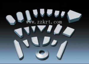 Good Wear Resistant Tungsten Carbide Brazed Tips for Cutting Insecurts pictures & photos