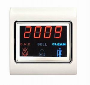 Electronic Touch Screen Hotel Doorbell with Room Number pictures & photos