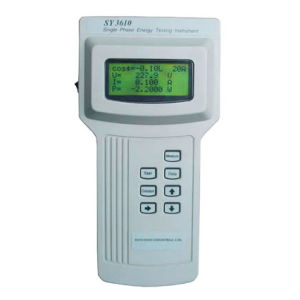 Handheld Single Phase Energy (Kwh Meter) Testing Instrument