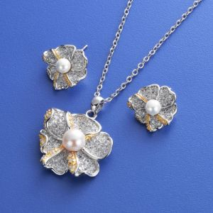 CZ Pearl Jewelry Sets pictures & photos