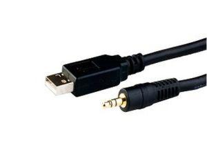FT232/Cp2102/Pl2303 USB Uart Ttl to Audio Jack 3.5mm Cable (OM-C232AJ) pictures & photos
