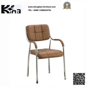 Metal Leather Visitor Chair (K-02)