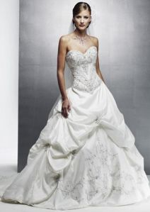 Embroidery Wedding Dress Wd9999