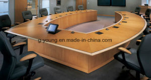 Popular Wooden Table Meeting Desk Office Furniture pictures & photos