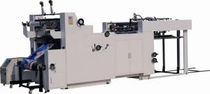 Fmsyk 1100c Automatic Water-Based, Thermal, Powder-Removal and Open-Window Film Laminating Machine pictures & photos