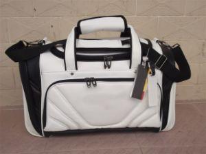 High Quality White PU Golf Boston Bag/ Golf Garment Bag pictures & photos
