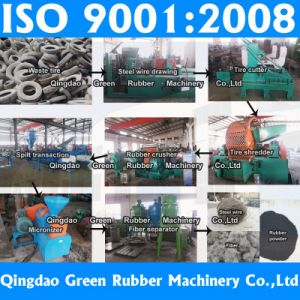 Rubber Machine Manufacturer Waste Tire Recycling Machine for Tyre Powder