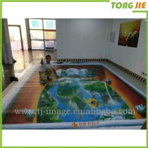 Funny Design Full Color Printing Vinyl Decorative 3D Floor Stickers pictures & photos