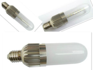 E27/B22 9W Aluminum Radiaror LED Bulb Light with Milky Cover pictures & photos