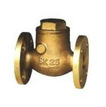 Marine Bronze JIS7371 5k Swing Check Valve pictures & photos