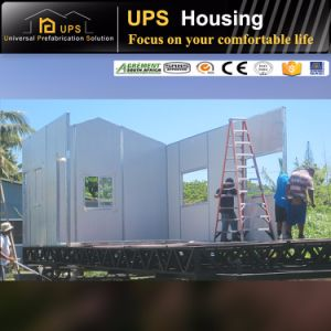 Fast Assembling Temporary Styrofoam Sandwich Wall Panels for Prefab House pictures & photos