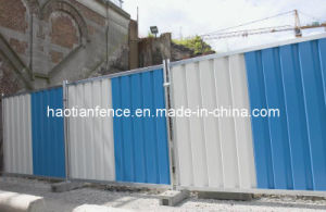 Steel Hoarding Fence Panel pictures & photos