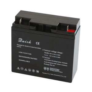Sealed Lead Acid Battery / Rechargeable Battery 12V17ah pictures & photos