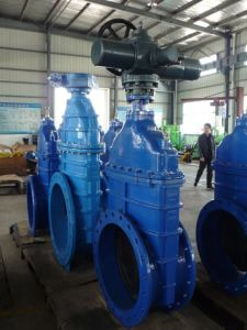 Electric Resilient Seated Gate Valve pictures & photos