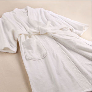 Cheap Promotional Cotton Terry Unisex Hotel/SPA Bathrobe (DPFT8012) pictures & photos