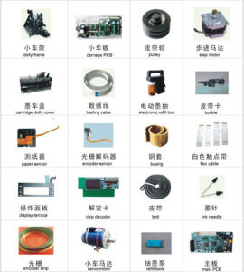 Infiniti Printer Spare Part / Spare Parts for Infinity Printer pictures & photos