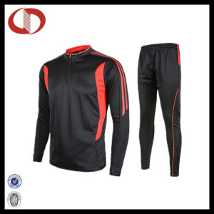 100% Polyester Dry Fit Men′s Track Suit Sportswear pictures & photos