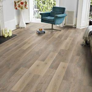 PVC Vinyl Floor Wood Surface Vinyl Plank Flooring with Click Design pictures & photos