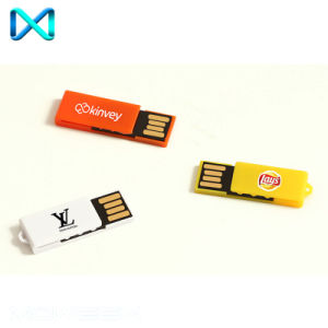 Mini Paper Clip Custom USB Flash Drive pictures & photos