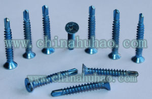 Screw/Csk Head Self-Drilling Screw /4.2X25 Drilling Screw pictures & photos