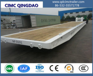 Cimc 20FT/40FT/45FT/62FT Terminal Use Roro Trailer Truck Chassis pictures & photos