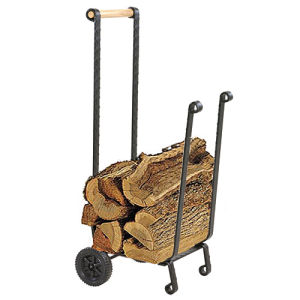Heavy-Duty Firewood Cart With Wheels pictures & photos