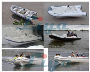 Liya 14 Feet PVC Rib Boat Hypalon Inflatable Boats pictures & photos