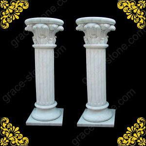 Marble Column, Carved Stone Pillar pictures & photos