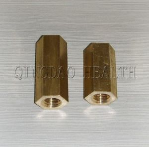 Brass Hex Coupler for Construction pictures & photos
