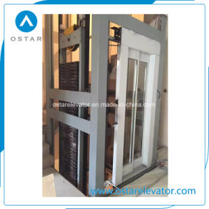 Luxurious Glass Panoramic Cabin for Observation Passenger Elevator (OS41) pictures & photos