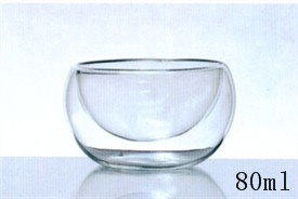 High Borosilicate Small Double Wall Glasses (B-DBW06) pictures & photos
