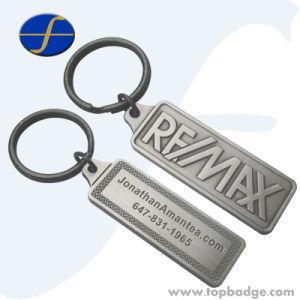 Wholesale Promotional Gifts 3D Relief Antique Die Cast Metal Keychain (FTKC1727A) pictures & photos