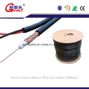 Pure Copper Rg-59 PVC Sheathed Coaxial Cable with Power Cable pictures & photos