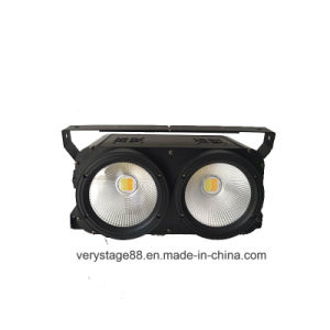 2 Eyes LED 200W COB Audience Matrix Blinder Stage Light pictures & photos
