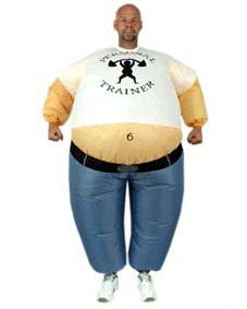Inflated Sumo Fat Suit Costume for Party pictures & photos
